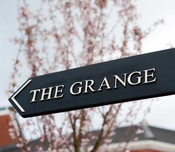 The Grange Sign